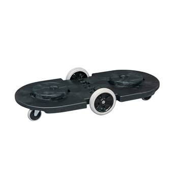 BRUTE® tandem round dolly