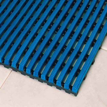 Exclusiv work mat, full roll, 1000x10000 mm, light blue