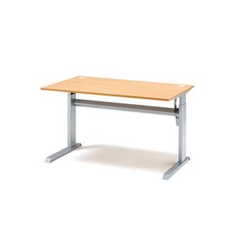 Höj- sänkbart skrivbord Flexus, Boklaminat, Längd (mm):1200