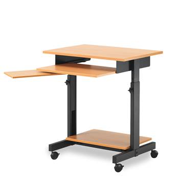 Height adjustable computer workstation: W700mm