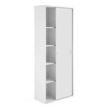 Szafa z drzwiami przesuwnymi Modulus 2000x800 mm, biała