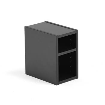 Modulus small shelf unit, black