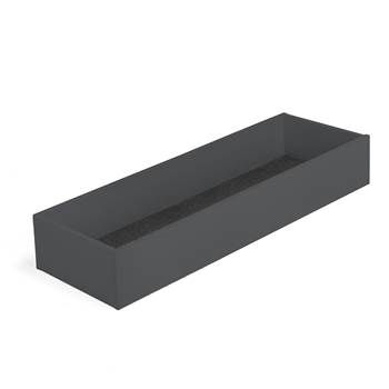Modulus XL top storage tray, W 1200 mm, black