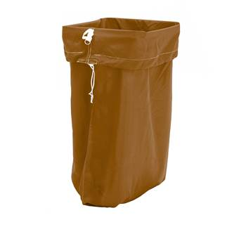 Laundry hamper, 1100x700 mm, brown