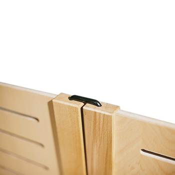 Linking fittings for wooden screens