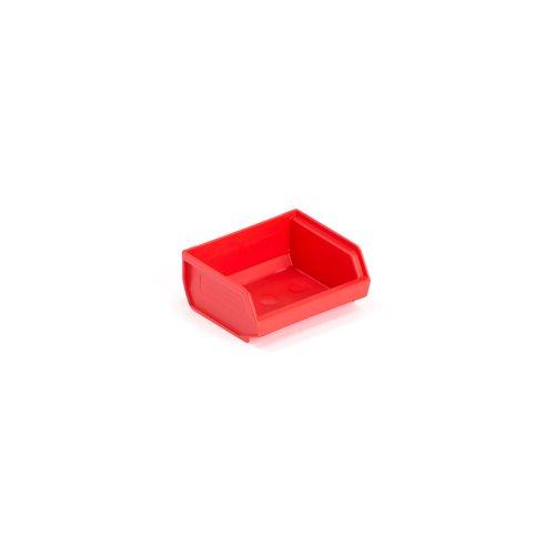 Czerwone pojemniki plastikowe o poj.0,2l
