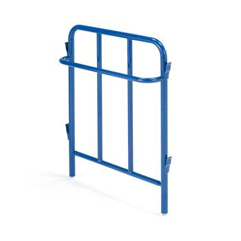 End frame with handle for combi trolley