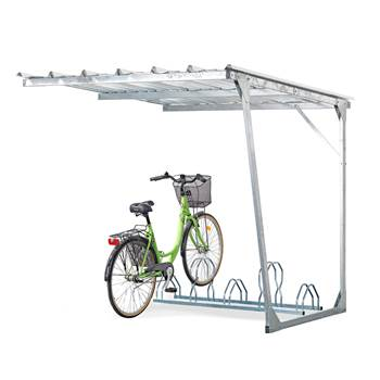 Add-on unit for Bicycle shelter, 5 bicycles