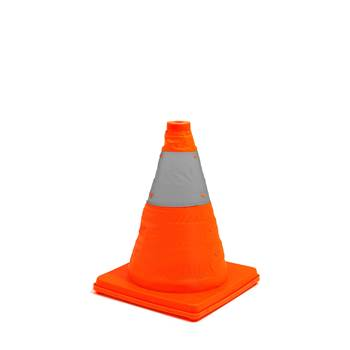 Collapsible traffic cones, H 420 mm