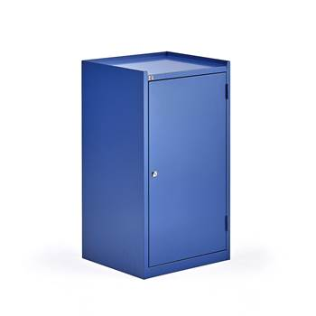 Workshop cabinet, 1 drawer, 900x500x450 mm, blue