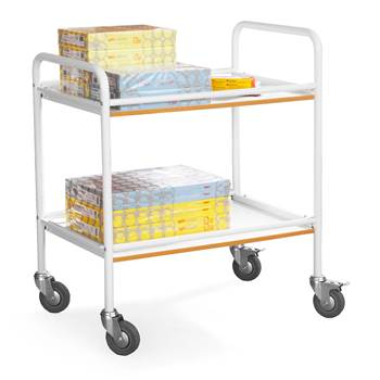 Shelf trolley: L750xW500xH910mm
