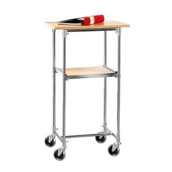 Mobilny stolik biurowy w kolorze buk laminat 430x900x600mm