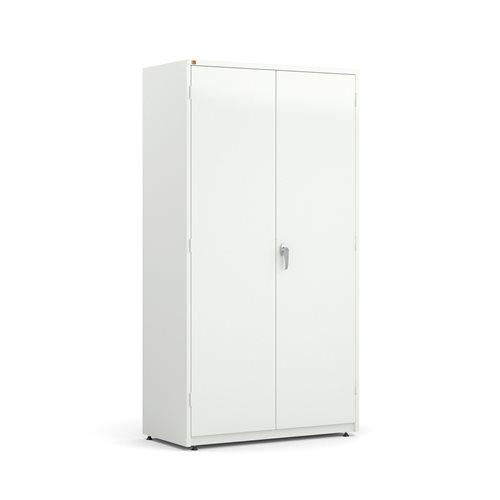 Säilytyskaappi, erikoisleveä, 1900x1020x500 mm, valkoinen
