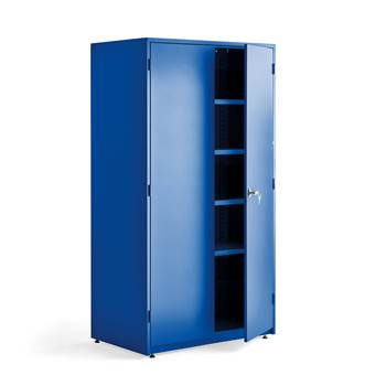 Extra deep storage cabinet, 1900x1020x635 mm, blue