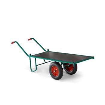 Transportna kolica: 1000x 600 mm: 400kg : zelena