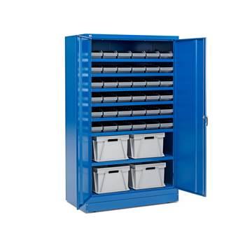 Zamykane szafki o zwiększonej głębokości  40 pojemników