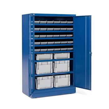 Zamykane szafki o zwiększonej głębokości  36 pojemników
