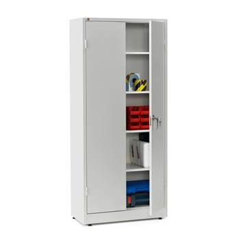 Storage cabinet, 1800x800x400 mm, grey