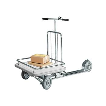 Platform scooter, 150 kg load, 690x580 mm