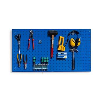 Zidna ploča za alat, 540 x 1000 mm, plava