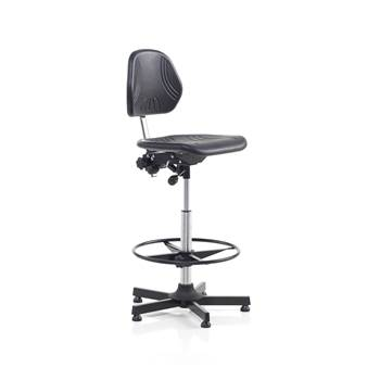 Superior factory chair, with footrest, H630-860 mm
