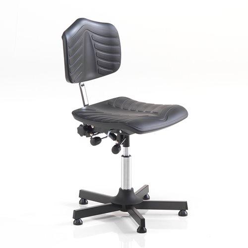 Krzesło robocze bez podnóżnka