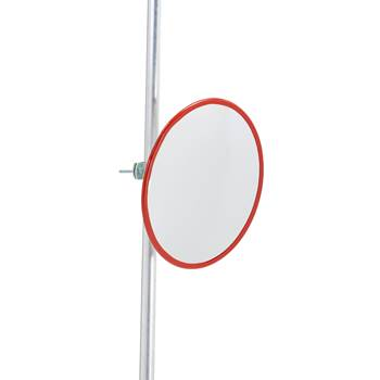 Indoor and outdoor industrial mirror, acrylic, Ø 500 mm