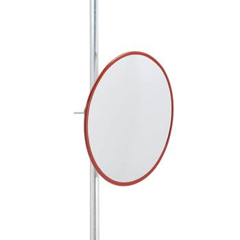 Indoor and outdoor industrial mirror, acrylic, Ø 600 mm