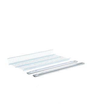 Galvanised extra shelf, 900x400 mm