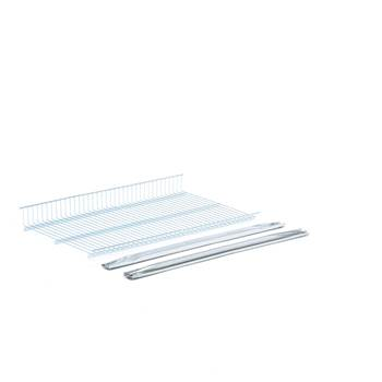 Galvanised extra shelf, 900x500 mm