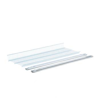 Galvanised extra shelf, 1200x400 mm