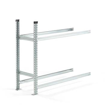 #en Tyre rack, 2 levels, add-on unit, 1050x1200x400 mm
