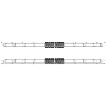 #en Tyre racking package deal, 40 ft, H 1970 mm