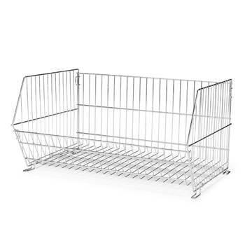 Wire storage baskets, 390x870x600 mm