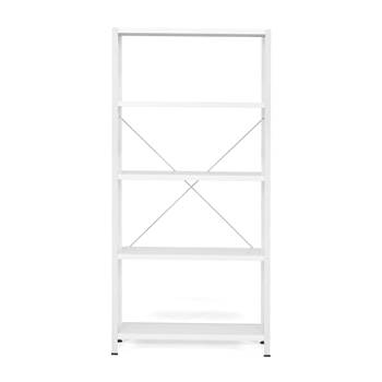 #en Light shelving, basic unit, 1970x1010x400 mm, grey
