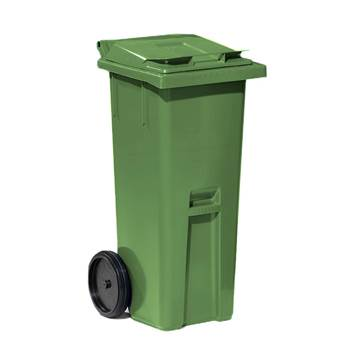 Classic wheelie bin, 1060x480x540 mm, 140 L, green