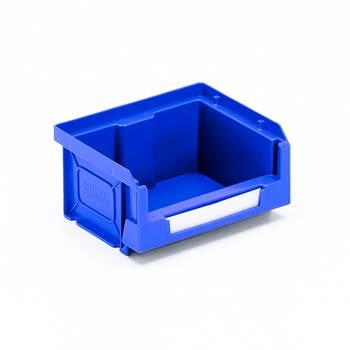 Oppbevaringsboks, 90x105x54 mm,  blå