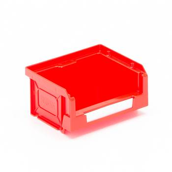 Czerwone pojemniki magazynowe 0,5 l - 105x55x90mm - 50szt w opakowaniu