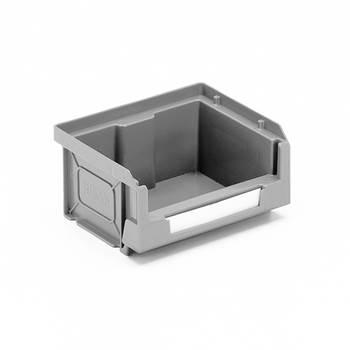 Budget stores bin,90x105x55 mm, 0.5 L, grey