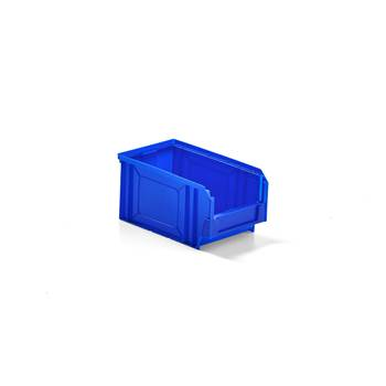 Oppbevaringsboks, 235x145x125 mm, blå