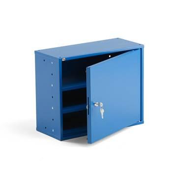 Småfackskåp, 380x470x205 mm, blå