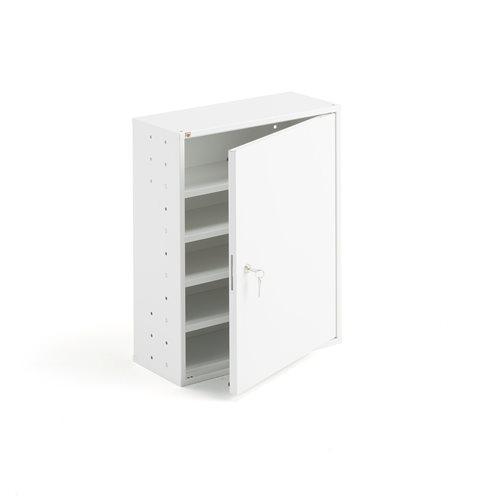 Kleiner weißer Aufbewahrungsschrank  AJ Produkte Österreich