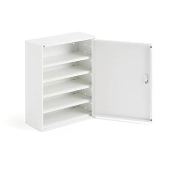 Small storage cabinet, 580x470x205 mm, white