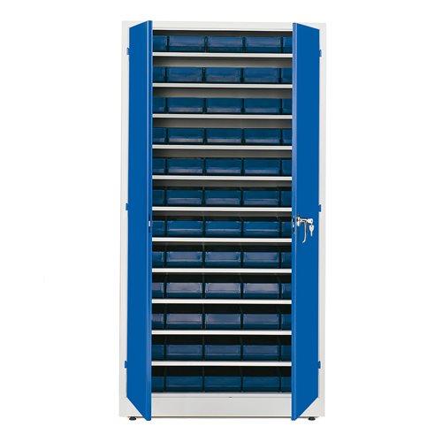 Laatikkokaappi, 60  laatikkoa, 1900x1000x400 mm