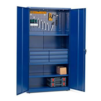 Complete tool cabinet set: 1900x1020x500mm