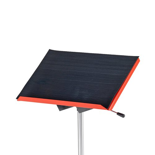 Rubber mat for assembly tabletop