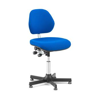 Multi-purpose industrial chair: H600mm: blue