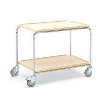 Wózek z 2 półkami