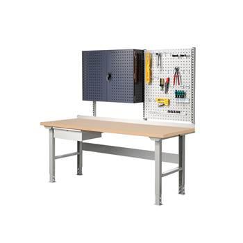 Complete workbench: 2000x800mm: hardboard