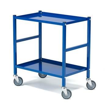 Työkaluvaunu / Rullapöytä, 2 hyllytasoa, 150 kg